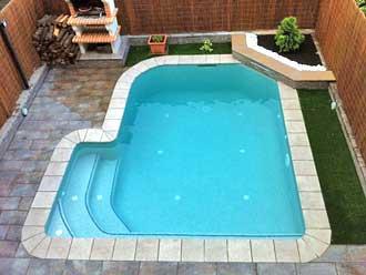 Construcci n de piscinas de obra for Medidas de piscinas de obra