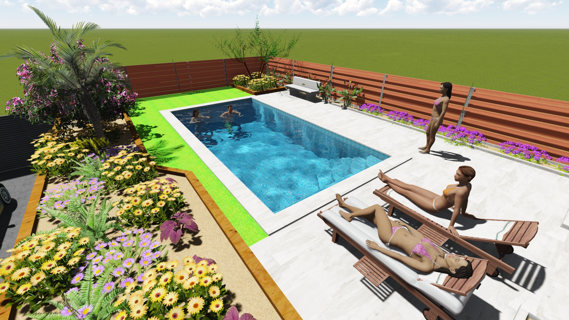 Construcci n de piscinas de obra - Piscinas pequenas de obra ...
