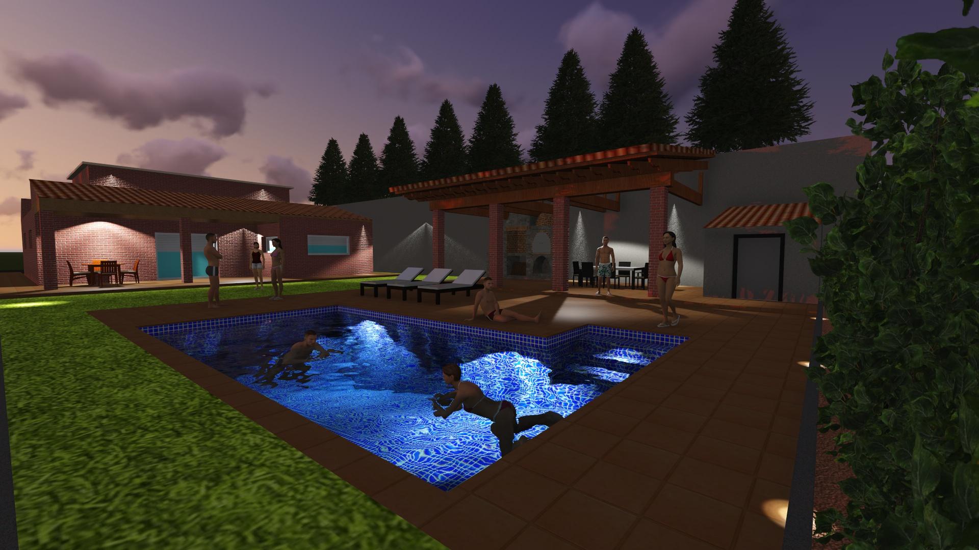 Dise os en piscinas 3d casa dise o for Piscina 3d