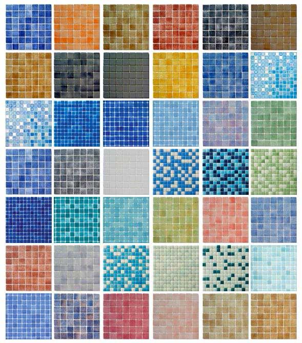 Gresite para piscinas - Azulejos de gresite ...