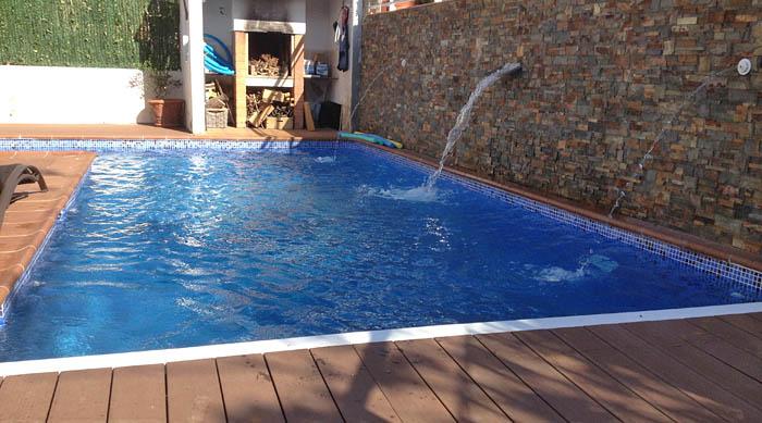 Piscines d 39 obra construcci de piscines a mida - Piscinas pequenas de obra ...