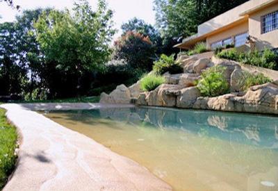 Piscines de sorra construcci de piscines tipus platja - Piscinas tipo playa ...